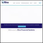 Screen shot of the Riva Systems plc website.
