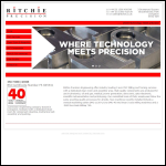 Screen shot of the Ritchie Precision website.