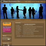 Screen shot of the Royale Electronic Services website.