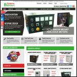 Screen shot of the Blandon Systems website.