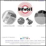 Screen shot of the Packs Infotel Ltd website.