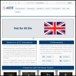 Screen shot of the Axyz Automation UK Ltd website.