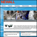 Screen shot of the Newall Measurement Systems Ltd website.