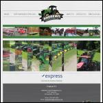 Screen shot of the MacWilliam, Andrew, Farm Supplies website.