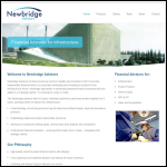 Screen shot of the Newbridge Networks Ltd website.