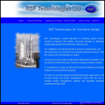 Screen shot of the RSF Technologies Ltd website.