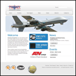 Screen shot of the Phoenix Systems International website.