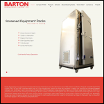 Screen shot of the Barton Engineering & Export Ltd website.