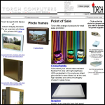 Screen shot of the Torch Computers Ltd website.