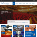Screen shot of the Trim Technology Ltd website.