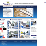 Screen shot of the Wasp Switches Ltd website.