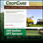 Screen shot of the Willsher Crop Care website.