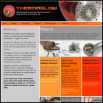 Screen shot of the Thermaglow Ltd website.