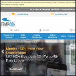 Screen shot of the Tempcon Instrumentation Ltd website.