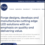 Screen shot of the Forge Europa Ltd website.