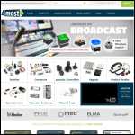 Screen shot of the Foremost Electronics Ltd website.