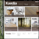 Screen shot of the Karelia Ltd website.