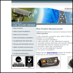 Screen shot of the Addlestone Electronics Ltd website.