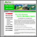 Screen shot of the Allertex Ltd website.
