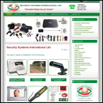 Screen shot of the Addressing Systems International Ltd website.