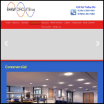 Screen shot of the Commercial Circuits Ltd website.