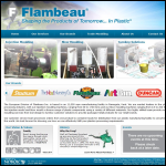 Screen shot of the Flambeau Europlast Ltd website.