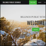 Screen shot of the Billings Publicity website.