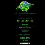 Screen shot of the Arc Electronics website.
