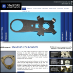 Screen shot of the Stanford Components Ltd website.