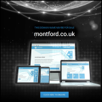 Screen shot of the Montford Instruments Ltd website.