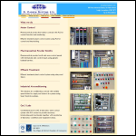 Screen shot of the S Carden Systems Ltd website.