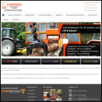 Screen shot of the Chippers International Ltd website.