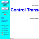 Screen shot of the Control Transducers Ltd website.