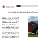 Screen shot of the Magnetic Shields Ltd website.