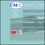 Screen shot of the C & M Mould Tools Ltd website.