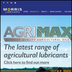 Screen shot of the Morris Lubricants Ltd website.