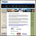 Screen shot of the Industrial Adhesives Ltd website.