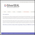 Screen shot of the International Seal (UK) Ltd website.