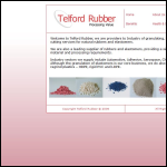 Screen shot of the Telford Rubber Processors Ltd website.
