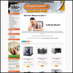 Screen shot of the Pro Tech Computerised Engravers website.