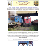 Screen shot of the Queenborough Rolling Mill Company website.
