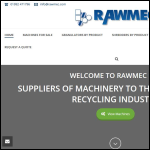 Screen shot of the Rawmec (EEC) Ltd website.