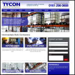 Screen shot of the Tycon Process Systems Ltd website.