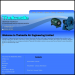 Screen shot of the Thelcastle Ltd website.