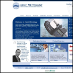 Screen shot of the Metrology & Tooling Ltd website.