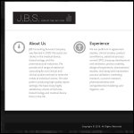 Screen shot of the JBS Consultancy (The) website.