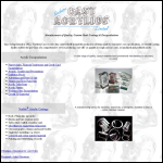 Screen shot of the Northern Cast Acrylics Ltd website.