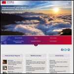 Screen shot of the Taiwan Representative Office website.