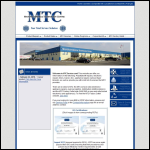 Screen shot of the MTC Electronic Services website.