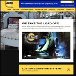 Screen shot of the Automation Conveyors Ltd website.